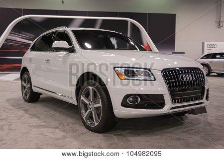 Audi Q5 Suv On Display.
