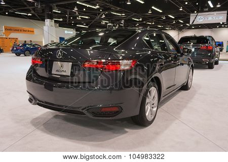 Acura Ilx On Display.