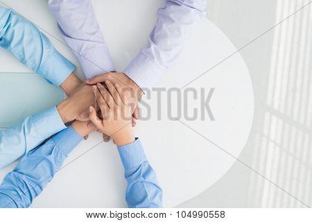 Heap of hands
