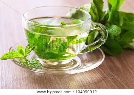 Cup Of Mint Tea