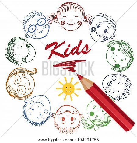 Illustration Of Kids