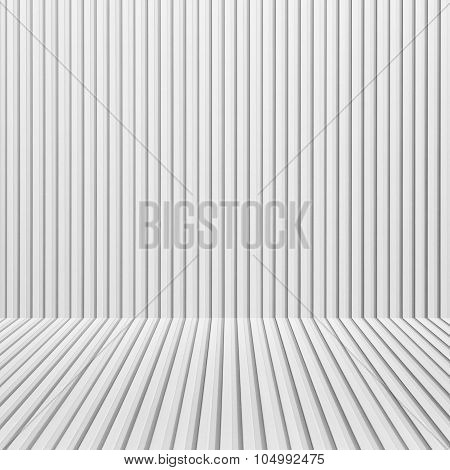 White corrugated metal background and texture surface