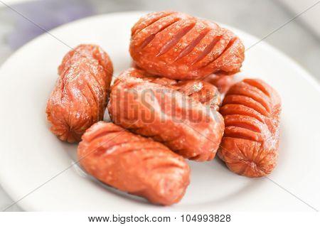 Fried Sausage