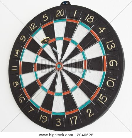 One Dart In The Dartboard