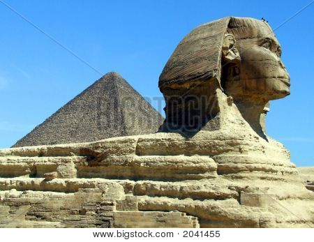 Great Pyramid & Sphinx Profile