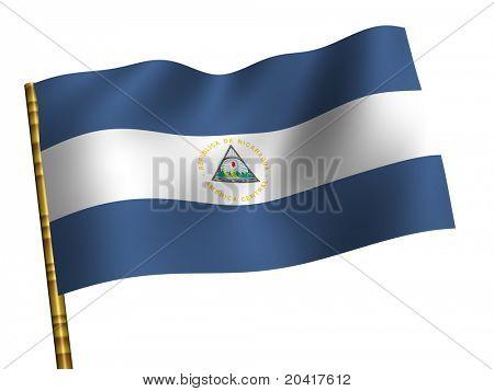 National Flag. Nicaragua