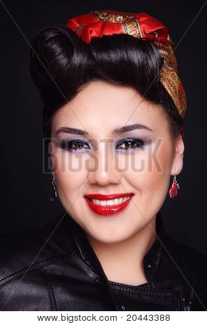 Rockabilly Asian Girl