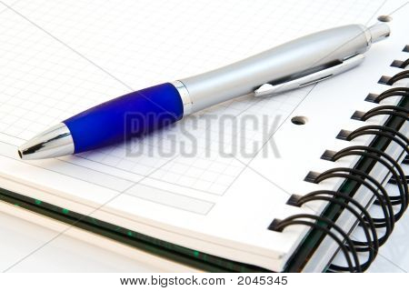 Notebook With Ballpen