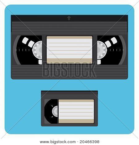 Vhs & Mini Video Cassette