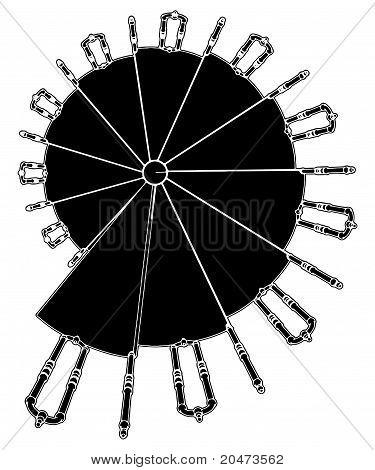 Spiral Staircase Vector 07.eps