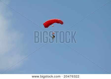 Military Parachutist