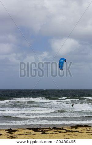 Adventurous Kite Surfing