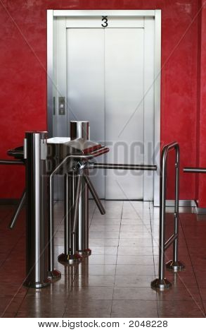 modernes Gebäude Aufzug
