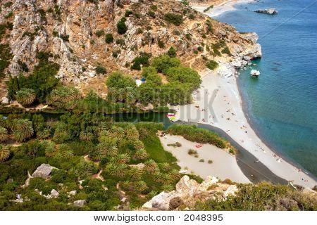 Preveli Beach Horiz