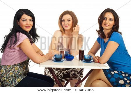 Casual Women Having Meeting