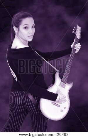 Guitar Girl 04 poster