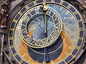 Ancient watches. Prague. Czechia