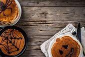 Halloween Pancakes For Children poster