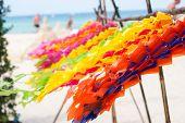 Decoration Festive Ornate Beach Songkran Holiday poster