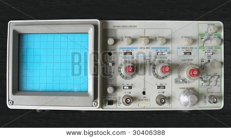 An oscilloscope