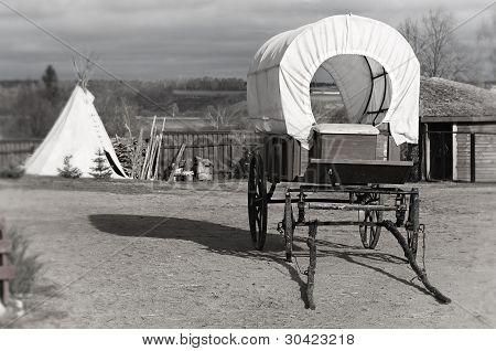 Wagon and wigwam