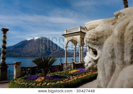 Lake Como garden