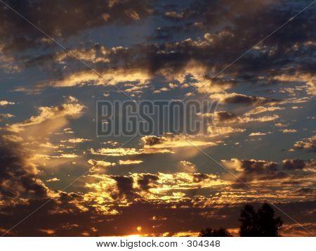 Sunset By God