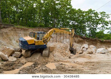 Excavations.