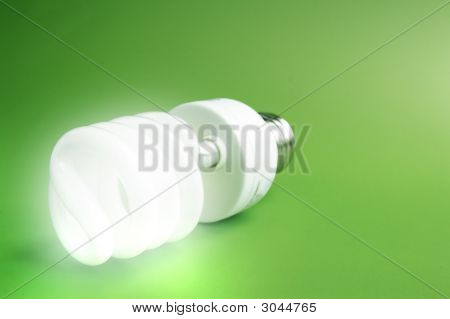 Green Bulb Glow 2