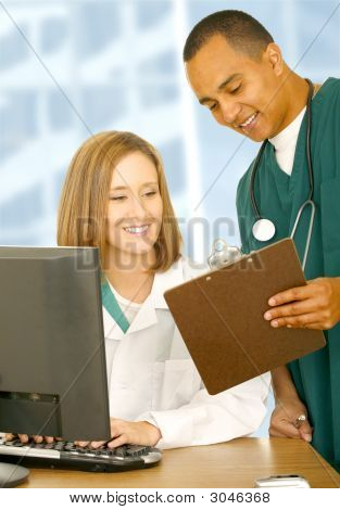 Medical People Checking Report