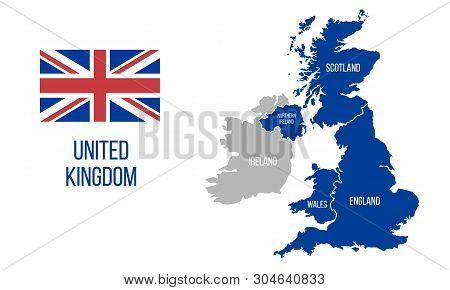 Map Of England Wales Scotland.United Kingdom Map England Scotland Wales Northern