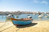 picture of lagos  - Harbor from Lagos in the Algarve in Portugal - JPG