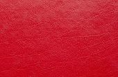 Red Leather Texture. Light Red Leather Pattern poster