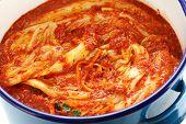 picture of kimchi  - making kimchi process - JPG