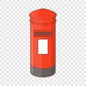 English Inbox Icon. Cartoon Illustration Of English Inbox Vector Icon For Web Design poster