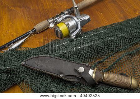Fishing with spinning