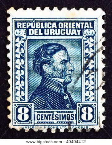 Postage stamp Uruguay 1928 Artigas, General and Patriot