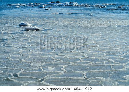 Frazil In Sea