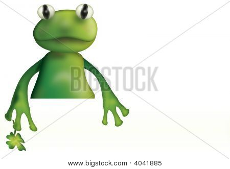Frog And Empty Board