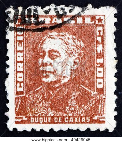 Postage stamp Brazil 1954 Duke of Caxias, Army Marshal