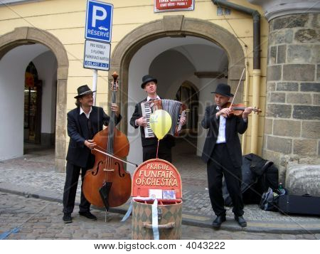Cheerful Musicians
