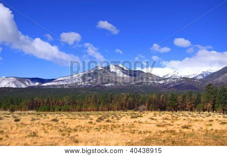 Humphrey s peak tallest mountain in Arizona, usa