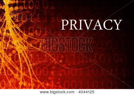 Privacy Abstract Background In Red And Black
