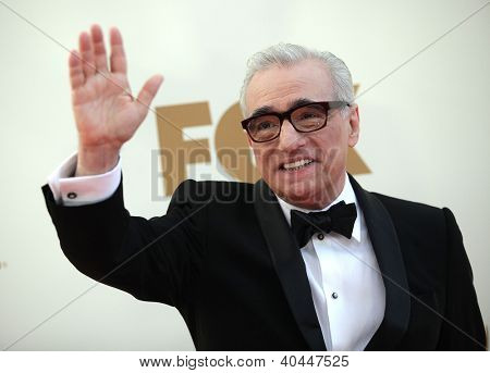LOS ANGELES - AUG 11:  Martin Scorsese arriving to Emmy Awards 2011  on August 11, 2012 in Los Angeles, CA