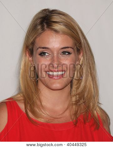 LOS ANGELES - JUL 27:  Daphne Oz ABC All Star Summer TCA Party 2012  on July 27, 2012 in Beverly Hills, CA