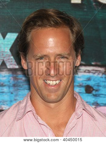 LOS ANGELES - JUL 23:  Nat Faxon arriving to FOX All-Star Party 2012  on July 23, 2012 in West Hollywood, CA