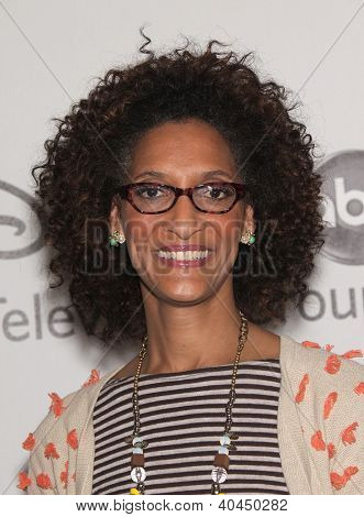 LOS ANGELES - JUL 27:  Carla Hall ABC All Star Summer TCA Party 2012  on July 27, 2012 in Beverly Hills, CA
