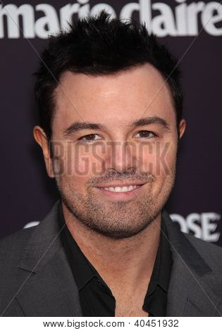 LOS ANGELES - JUN 01:  Seth MacFarlane arrives to the Chrysalis Butterfly Ball 10th Anniversary  on June 01,2011 in Los Angeles, CA