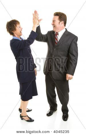 Business Partners High Five