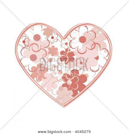 Flowers Heart.